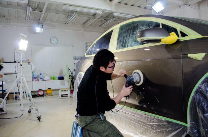 tesla model coating
