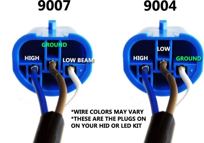 9007 hid bulb wiring  schematic wiring diagram ground