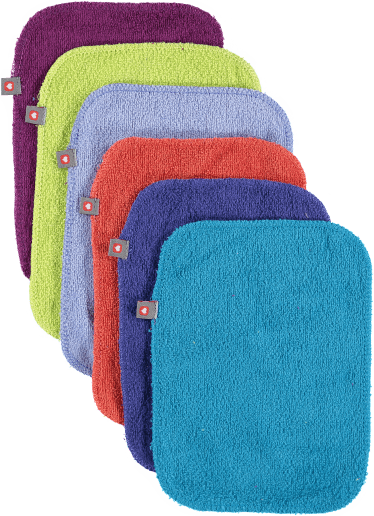 Bright close pop in bamboo reusable wipes