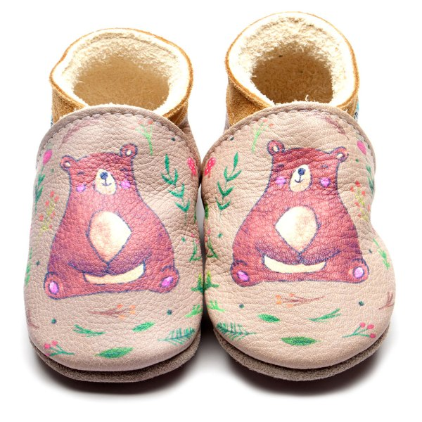 bear-cream-print-leather-inchblue-baby-shoe