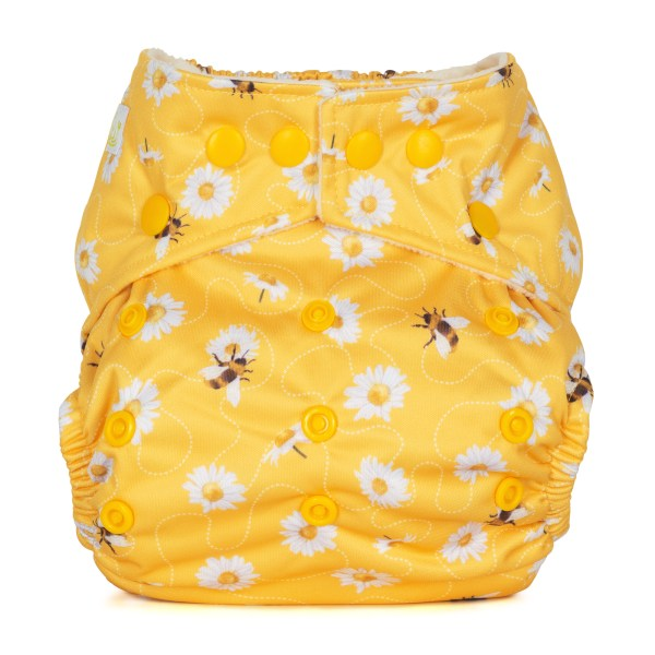 Baba+Boo Daisies One Size Reusable Nappy