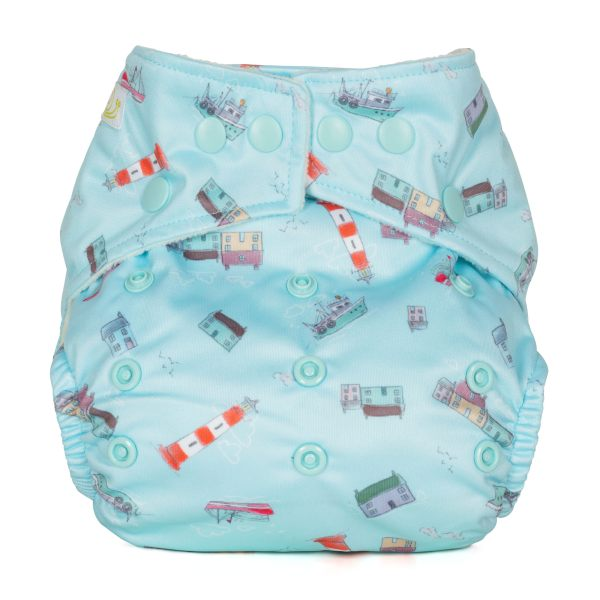 Baba+Boo Harbour One Size Reusable Nappy