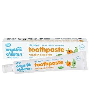 organic children toothpaste