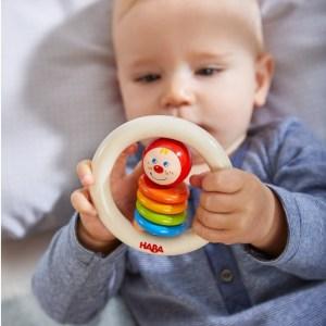 baby toy handheld clown