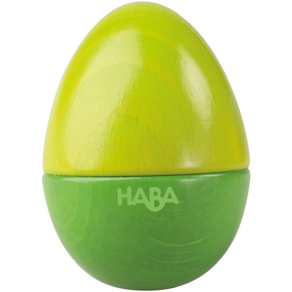 green egg musical shaker