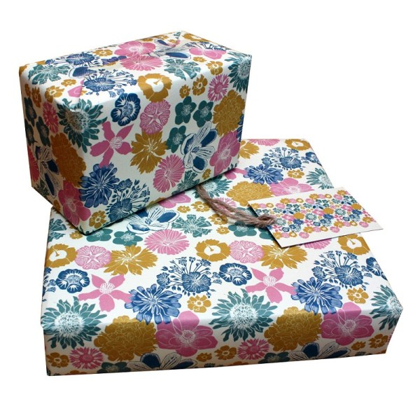 cottage floral paper