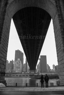 Couple Under the Bridge