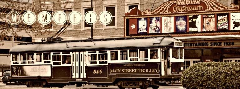 Main Street Trolley Memphis, TN