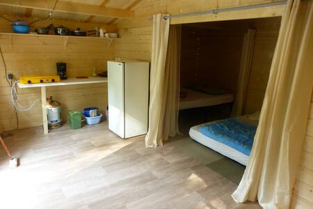 séjour cabane Fouran