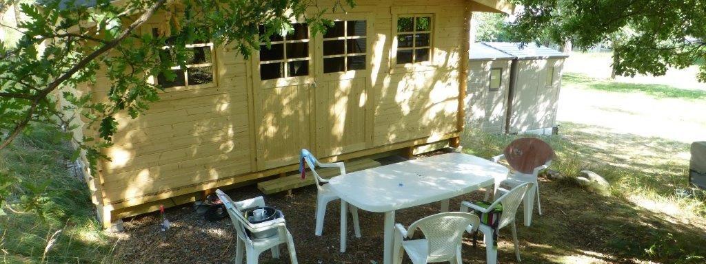 terrasse cabane Fouran