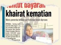Waris peneroka Felda layak tuntut RM10 Ribu