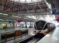 LRT Lewat 15 Minit