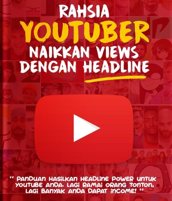 Cara Naik Views Youtube Dengan Headline Power!