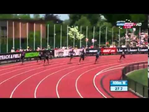 Kirani James – 400m Boss!
