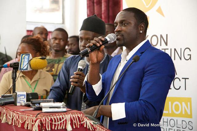 Akon Lighting Africa With Solar Powered Initiative