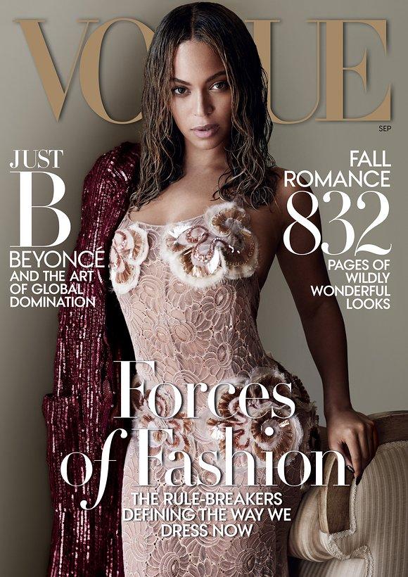 Beyoncé Slays Cover Of Vogue September 2015 Issue