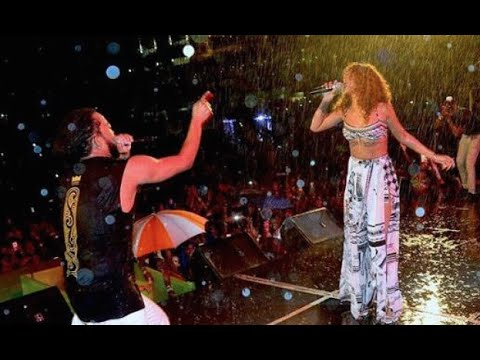 Rihanna performs IN THE RAIN with Machel Montano