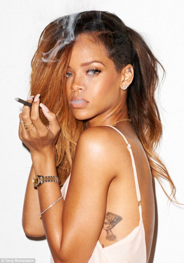Rihanna Launches Her Own Brand Line Of Marijuana