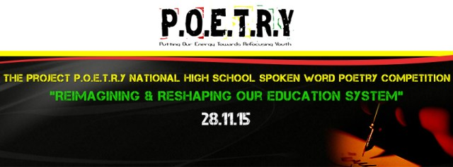 Project P.O.E.T.R.Y National High School Competition this Saturday