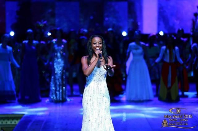 Guyana Shines In the Miss World 2015 Talent Segment!