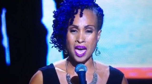 Soca Queen Alison Hinds Sings US National Anthem Live At NBA Game