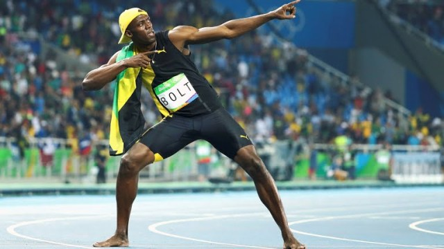 Jamaican lightening Bolt strikes thrice