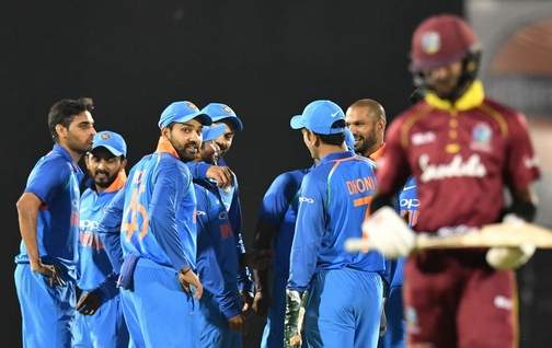India beat West Indies by 224 runs in 4th ODI