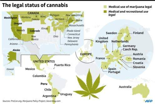 Canada to pardon pot possession as it legalize marijuana