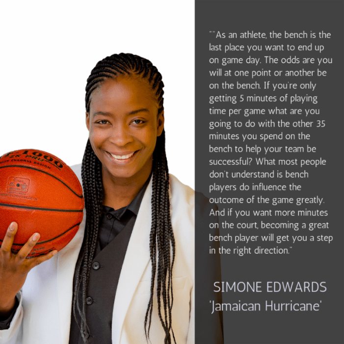 Simone 'Jamaican Hurricane' Edwards  is named Celebrity Spokesperson for National Caribbean American Heritage Month 2019