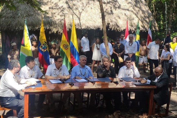 Guyana Signs Historic Pact to Protect Amazon Forest
