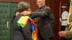 Barbados' Prime Minister Receives Guyana's Second Highest National Award