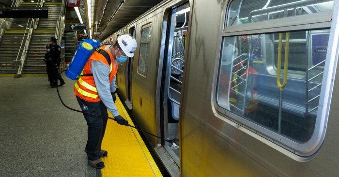 TWU's 10-Point Transit Plan For a Reopened New York City