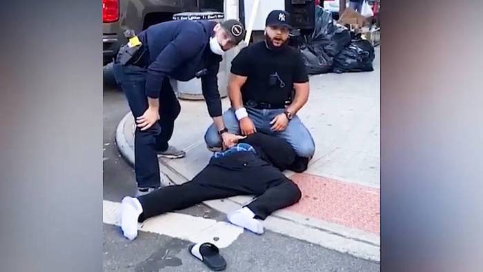 NYPD Violently Attack Two Black Men During Social Distancing Enforcement