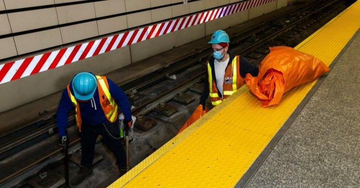 NYC Subway Crews Hit Hardest by Coronavirus, MTA Numbers Show