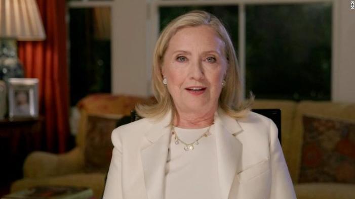 Watch Hillary Clinton's Full Speech At The 2020 DNC