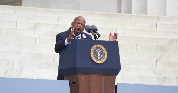 John Lewis traded the typical college experience for activism, arrests and jail cells