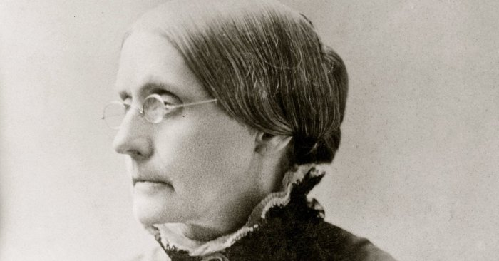 Trump's Pardon of Susan B. Anthony Shows His Allegiance to White Supremacy
