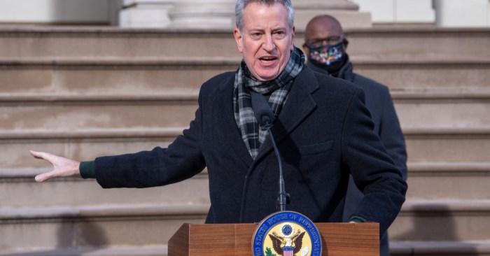 Mayor de Blasio Announces New York City Will Cancel Trump Organization Contracts