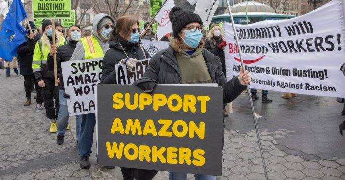 Amazon Versus Unions