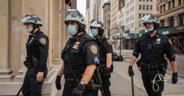 It's Vaccine or Test for NYPD — or Go Home Without Pay