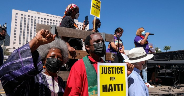 Violent, Racist Deportations of Haitian Refugees is Beyond the Pale