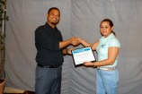 CCCCC receiving certificate