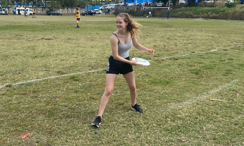 Coach ultimate frisbee abroad on your gap year