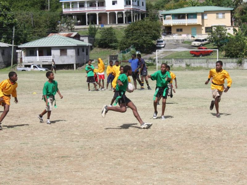 Caribbean Coaching's annual rugby festival in St Lucia