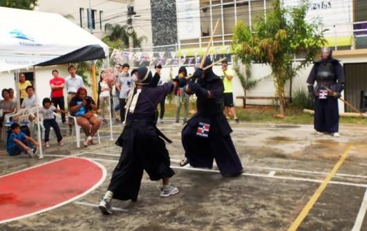 Un combate de Kendo