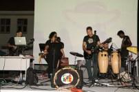 Aruban reggae band Cozmic Stonez at the Caribbean Linked IV opening
