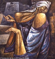 'Siempre la Limosna' (1963) by Augusto Marín (1921-21011).