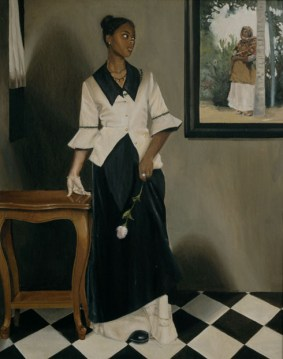 'Armelle' (1997) by Elizabeth Colomba. Oil on canvas.