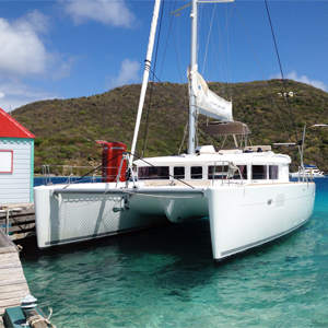 Chartered-Catamaran-boat