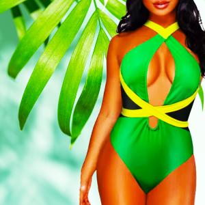 Green-Jamaica-onepiece